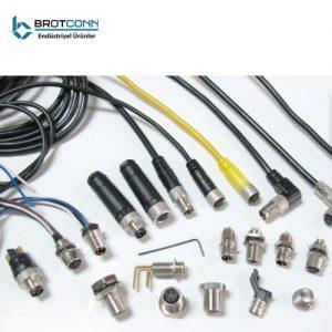 M8 Kablo Ve Konnektörler