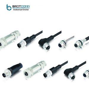 M12 Kablo Ve Konnektörler